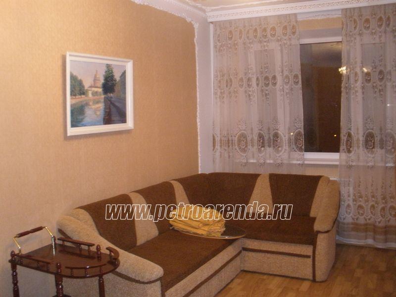 d56d1e8087740 аренда квартир в Санкт-Петербурге, однокомнатная у метро Рыбацкое